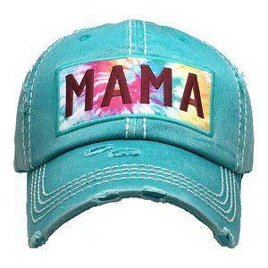 NWT *BOUTIQUE*   TIE-DIE  MAMA HAT